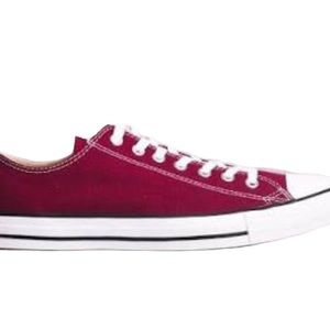 CONVERSE All Star Sneakers Ox Maroon/Pink Size 6